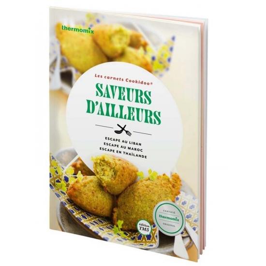livre de recettes Saveurs d'ailleurs vorwerk TM5 25225