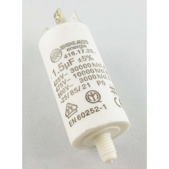 condensateur 1,5 µf 450V lave-linge