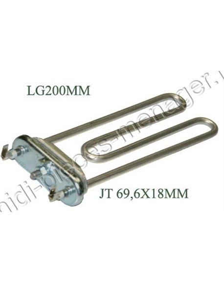 thermoplongeur lave linge 1850w brandt 55X9928 LE6S023A9
