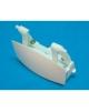 poignée blanche lave vaisselle brandt 31X9969 31x7810