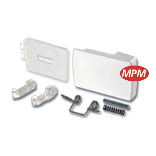 kit poignee hublot blanc whirlpool 481949869162