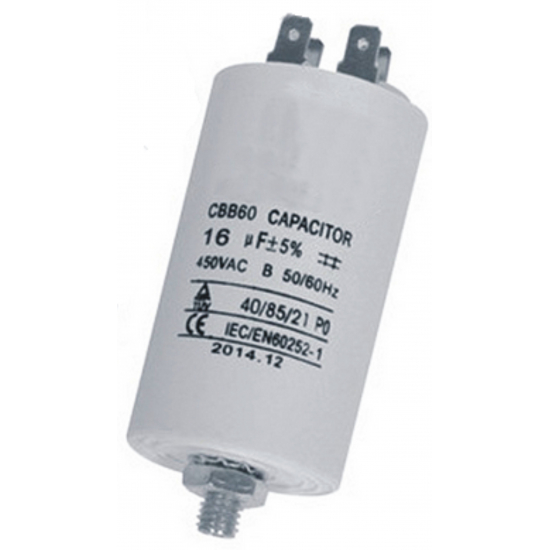 condensateur 2.5 mf  450V lave-linge