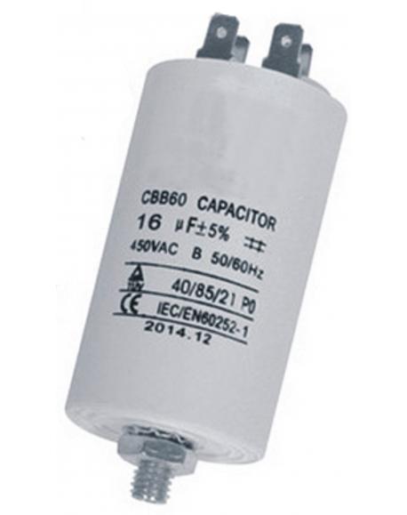 condensateur 12,5mf 450V lave-linge