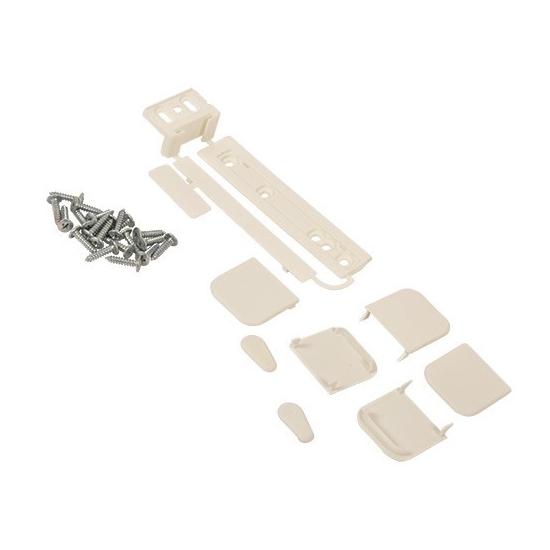 Kit de montage pour porte de réfrigérateur congélateur intégrée type coulissant arthur martin electrolux 4055136008