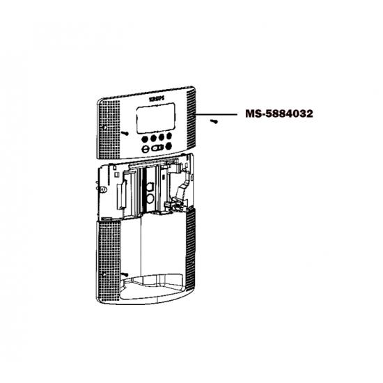 MS-5884032 - CARTE ELECTRONIQUE DE COMMANDE CAFETIERE EXPRESSO ESPRESSERIA AUTOMATIC KRUPS