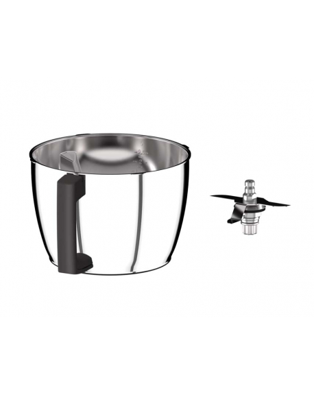 17532 - Bol inox + couteau robot multifonction cook expert