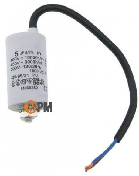 Condensateur 16mF 450V avec fils