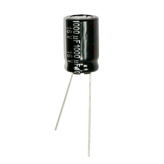 ECA1CHG102 - Condensateur 1000UF-16V ELKO RADIAL