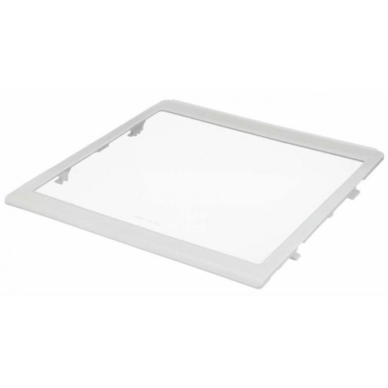 00446034 - clayette en verre partie congelateur réfrigérateur