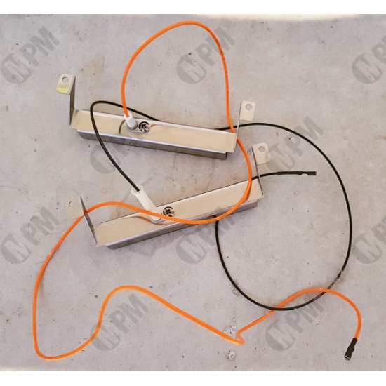 5010005398 - KIT ELECTRODES + SUPPORT BARBECUE GAZ 3 SERIE WOODY L CAMPINGAZ