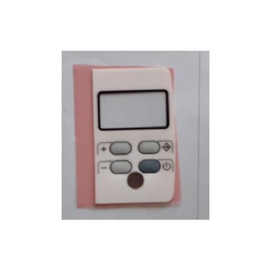 boitier de commande ARES V.5 blanc radiateur delonghi