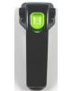 SS-995175 - Poignée noire avec bouton vert - EPUISE