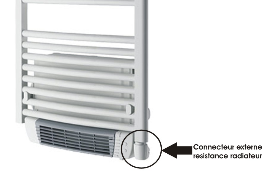 kit thermostat complet de regulation seche serviette delonghi aurelia ebay. Black Bedroom Furniture Sets. Home Design Ideas